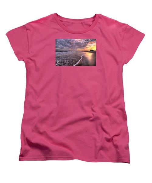 Wet Boots Women's T-Shirt (Standard Cut) by John Loreaux