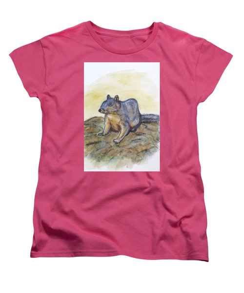 What Are You Looking At? Women's T-Shirt (Standard Cut) by Clyde J Kell