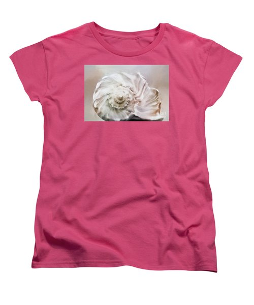 Women's T-Shirt (Standard Cut) featuring the photograph Whelk Shell by Benanne Stiens