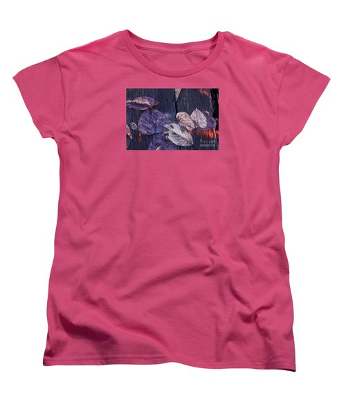 Women's T-Shirt (Standard Cut) featuring the photograph Where Do You Go When You Fall by Brian Boyle