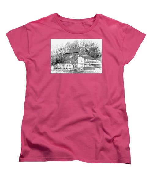 Where Have All The Farmers Gone Women's T-Shirt (Standard Cut) by Judy Wolinsky