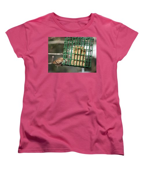 Women's T-Shirt (Standard Cut) featuring the photograph Where There's A Will by Cathy Harper