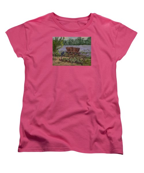 Where's The Seed? Women's T-Shirt (Standard Cut) by Jane Thorpe