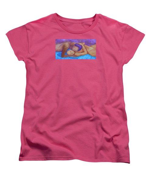 Whispering Women's T-Shirt (Standard Cut) by Gioia Albano
