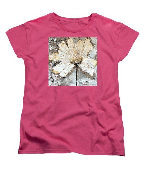 White Daisy Women's T-Shirt (Standard Cut)