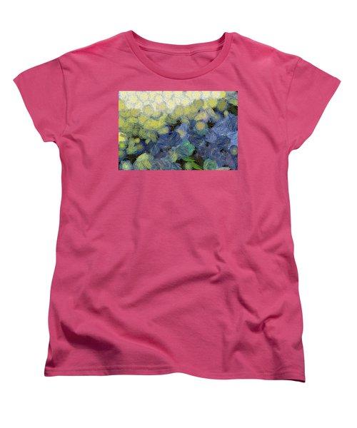 Whorls And More Whorls Women's T-Shirt (Standard Cut) by Ashish Agarwal