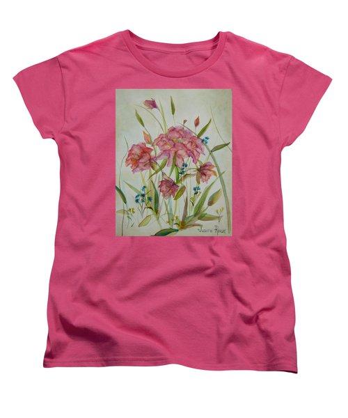 Wildflowers Women's T-Shirt (Standard Cut) by Judith Rhue