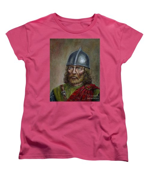 William Wallace Women's T-Shirt (Standard Cut) by Arturas Slapsys