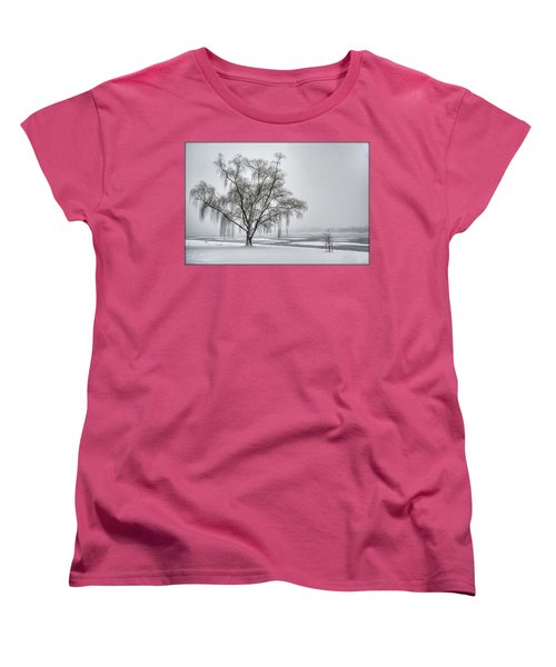 Willow In Blizzard Women's T-Shirt (Standard Cut)