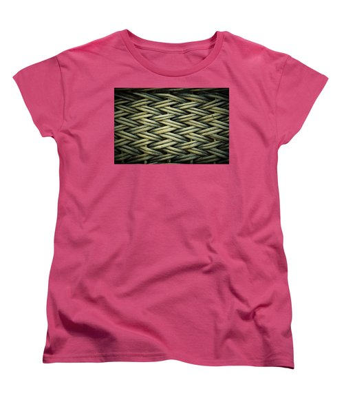 Women's T-Shirt (Standard Cut) featuring the photograph Willow Weave by Les Cunliffe