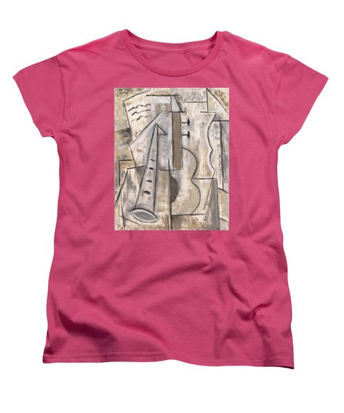 Wind And Strings Women's T-Shirt (Standard Cut) by Trish Toro