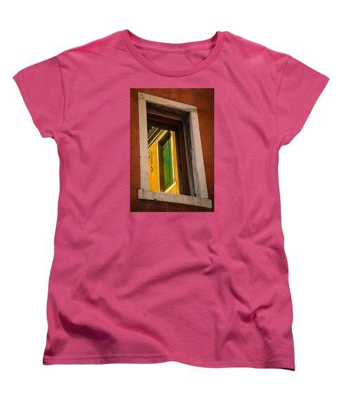 Window Window Women's T-Shirt (Standard Cut) by Kathleen Scanlan