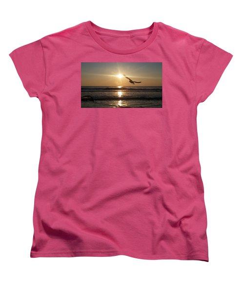 Wings Of Sunrise Women's T-Shirt (Standard Cut)