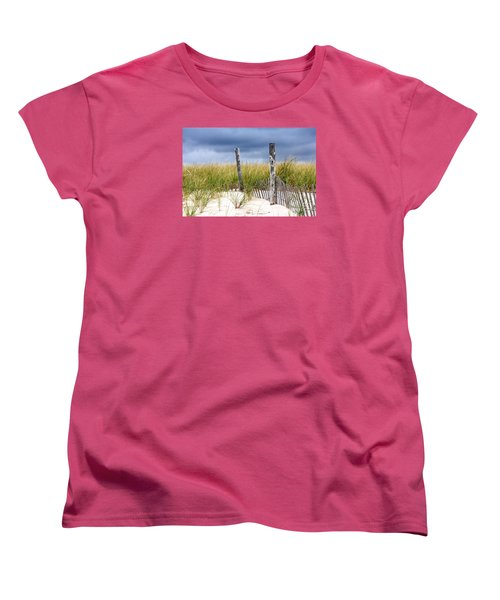 Women's T-Shirt (Standard Cut) featuring the photograph Who Knows How Long This Will Last by Dana DiPasquale