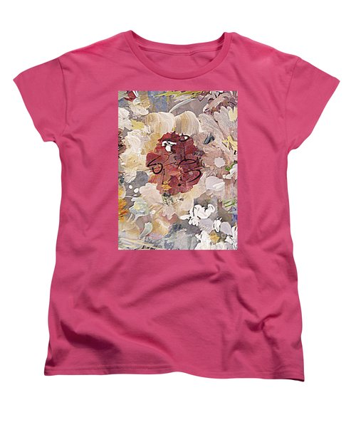 Winter Bouquet Women's T-Shirt (Standard Cut) by Nancy Kane Chapman