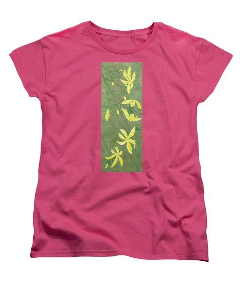 Winter Jasmine Women's T-Shirt (Standard Cut) by Barbara Moignard