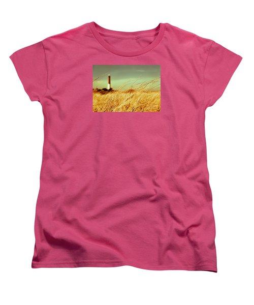 Winter Shore Breeze Women's T-Shirt (Standard Cut)