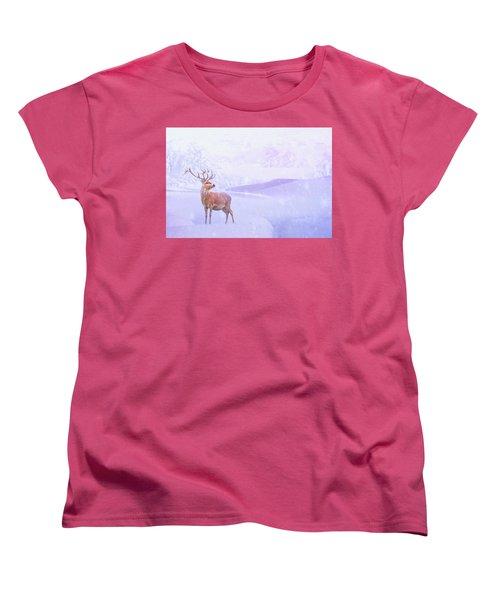 Winter Story Women's T-Shirt (Standard Cut) by Iryna Goodall