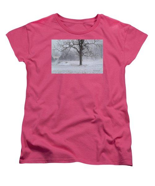Winter Walnut Women's T-Shirt (Standard Cut)