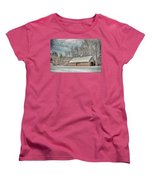Winters Coming Women's T-Shirt (Standard Cut) by Tricia Marchlik