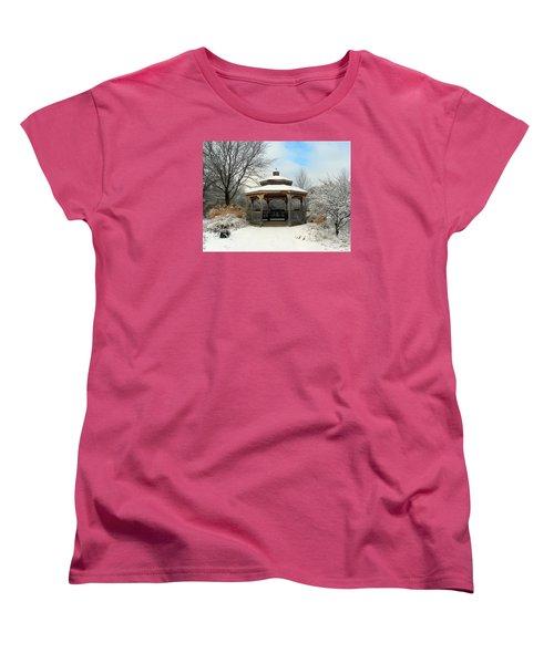 Wintertime Women's T-Shirt (Standard Cut) by Teresa Schomig