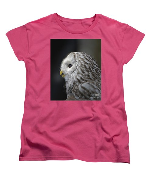 Wise Old Owl Women's T-Shirt (Standard Cut) by Kathy Baccari