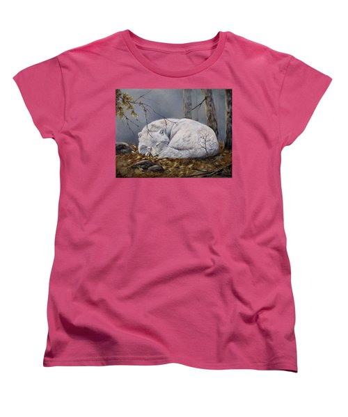 Wolf Dreams Women's T-Shirt (Standard Cut)