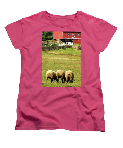Wooly Bully Women's T-Shirt (Standard Cut) by Trish Tritz