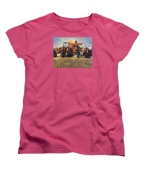 Workin' At The Ranch Women's T-Shirt (Standard Cut)