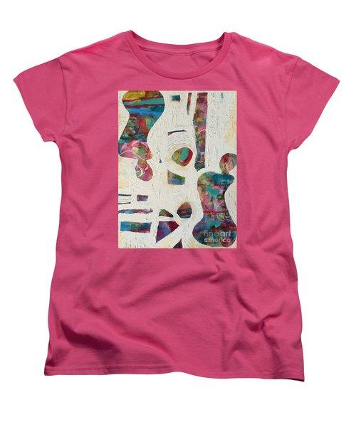 Worldly Women Women's T-Shirt (Standard Cut) by Gail Butters Cohen
