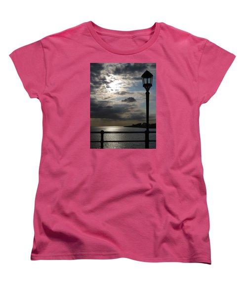 Worthing Seafront From The Pier Women's T-Shirt (Standard Cut) by John Topman
