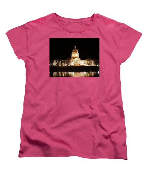 Wv Capital Building Women's T-Shirt (Standard Cut)