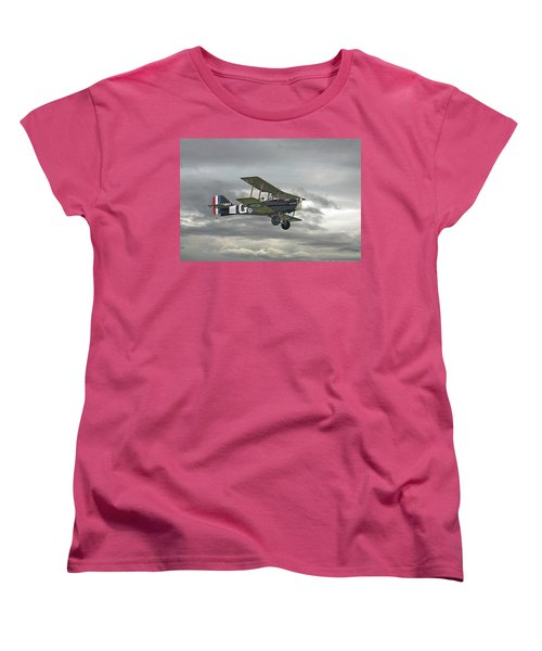 Women's T-Shirt (Standard Cut) featuring the digital art Ww1 - Icon Se5 by Pat Speirs