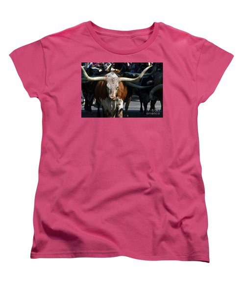 Women's T-Shirt (Standard Cut) featuring the photograph Ya'all Be Careful Now..... by Debby Pueschel