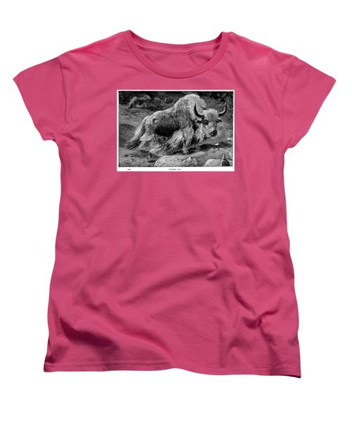 YAK Women's T-Shirt (Standard Cut) by Granger