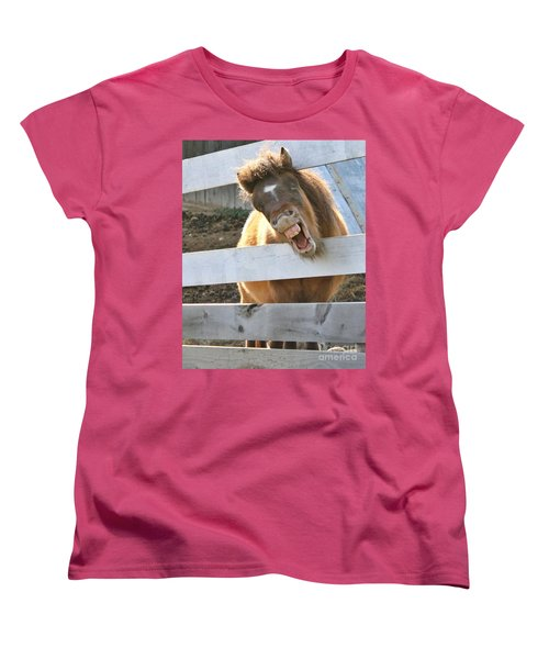 Women's T-Shirt (Standard Cut) featuring the photograph Yee Haw by Heather King
