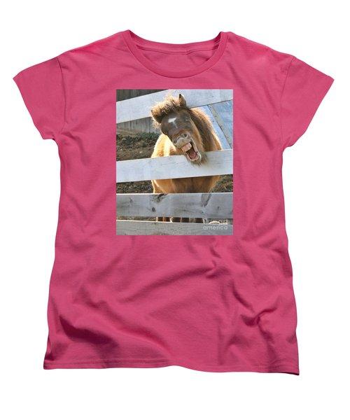 Yee Haw Women's T-Shirt (Standard Cut) by Heather King