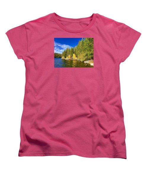 Golden Waters Women's T-Shirt (Standard Cut)