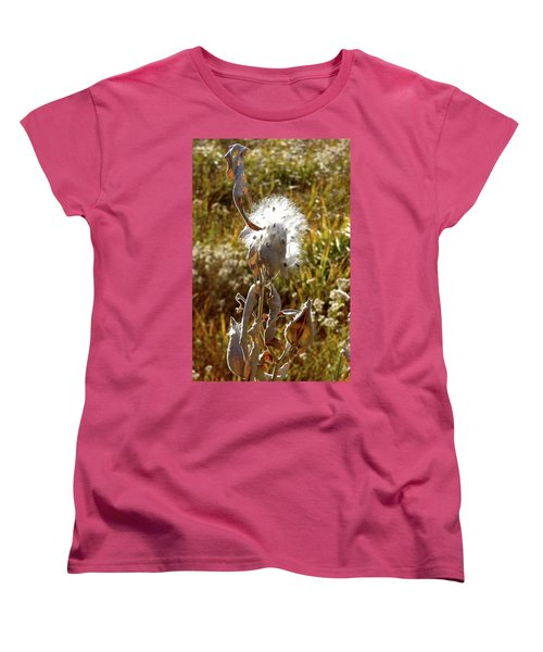 Yosemite Milkweed Women's T-Shirt (Standard Cut) by Amelia Racca