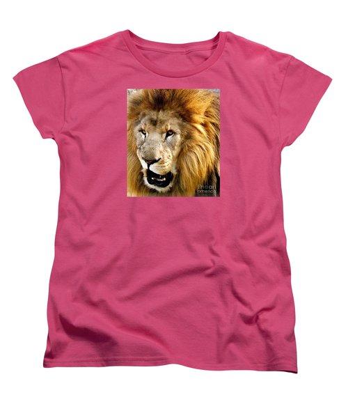 You Talkin To Me Women's T-Shirt (Standard Cut) by Christy Ricafrente