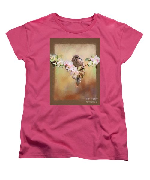 Young Morning Dove Women's T-Shirt (Standard Cut) by Suzanne Handel