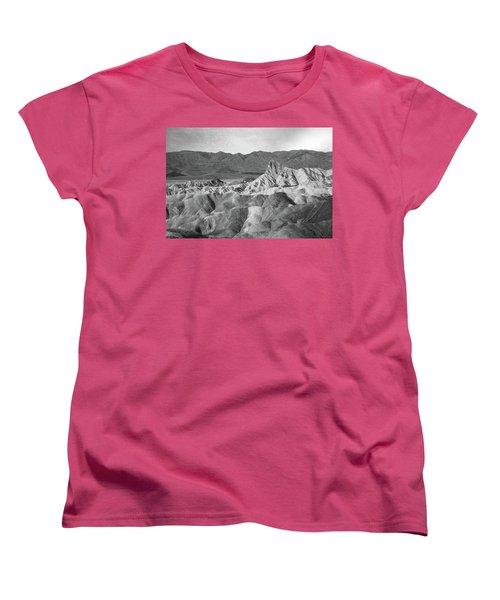 Zabriskie Point Landscape Women's T-Shirt (Standard Cut) by Marius Sipa