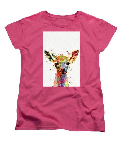Baby Deer  Women's T-Shirt (Standard Fit)
