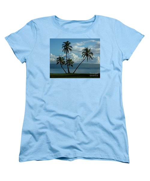 A Little Bit Of Paradise Women's T-Shirt (Standard Cut) by Vivian Christopher