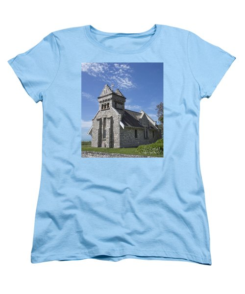 Church In New Zealand Women's T-Shirt (Standard Cut)