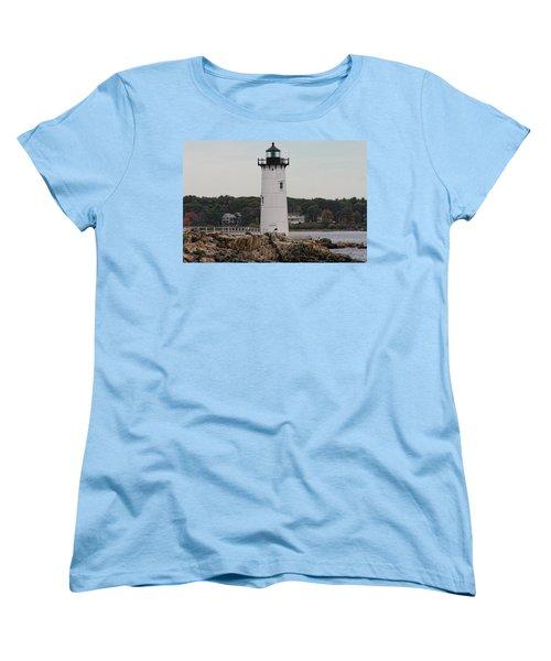 Fort Constitution Light Women's T-Shirt (Standard Cut) by Denyse Duhaime