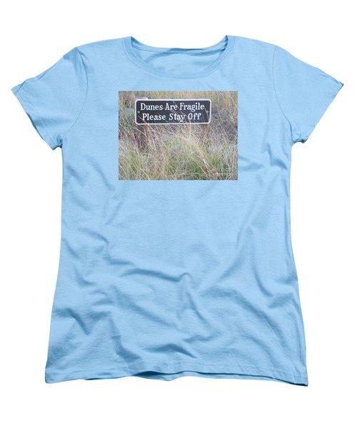 Women's T-Shirt (Standard Cut) featuring the photograph Sand Dune  by Eunice Miller