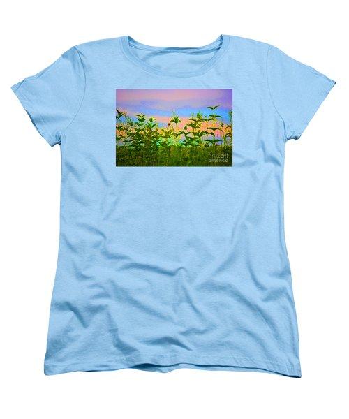 Meadow Magic Women's T-Shirt (Standard Cut) by First Star Art
