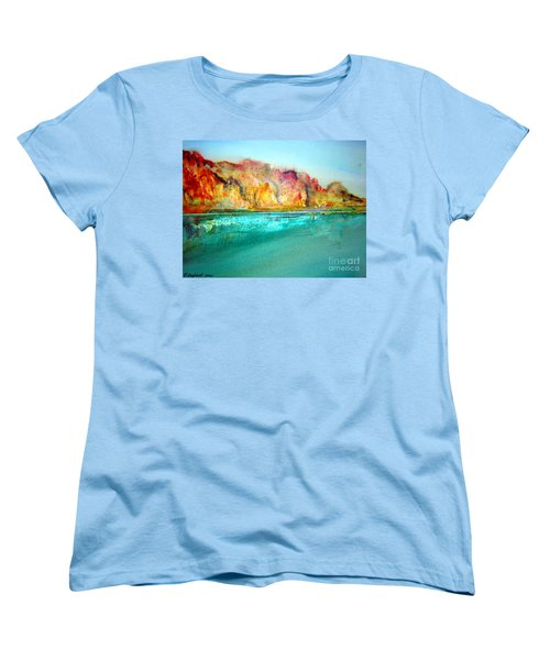 The Kimberly Australia Nt Women's T-Shirt (Standard Cut) by Roberto Gagliardi