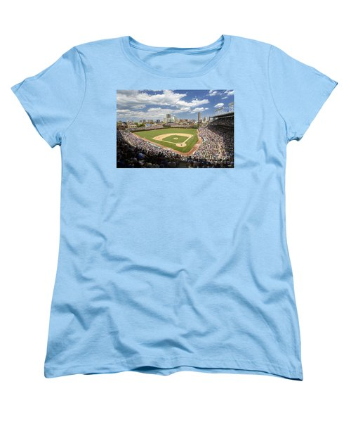 0415 Wrigley Field Chicago Women's T-Shirt (Standard Cut) by Steve Sturgill